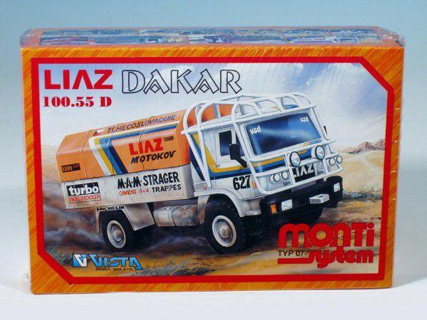 Stavebnice Monti 07 Rallye Dakar Liaz 1:48 v krabici 22x15x6cm