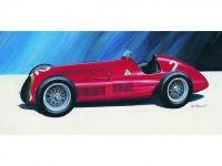 Model Alfa Romeo Alfetta 1950 17,2x6,5cm v krabici 25x14,5x4,5cm
