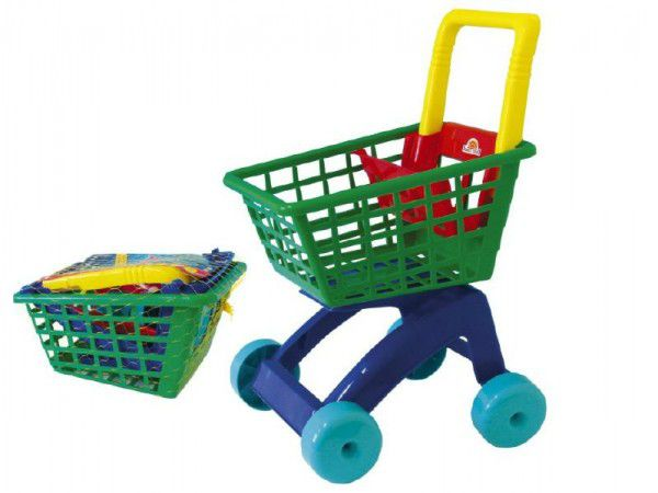 Nákupní vozík/košík plast 31x59x40cm