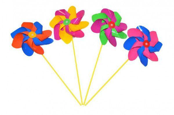 Větrník 52 cm průměr 20cm asst 3 barvy