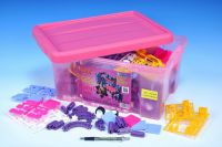 Stavebnice Seva pro holky 1 Jumbo plast 1172ks v plastovém boxu 41x29x20cm