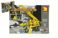 Stavebnice Dromader Auto Jeřáb 29404 192ks v krabici 25,5x18,5x4,5cm