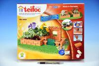 Stavebnice Teifoc Zahrada Paola 145ks v krabici 35x29x8cm