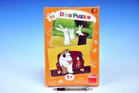 Puzzle Večerníčky 2x48 dílků v krabičce 19x27,5x3,5cm