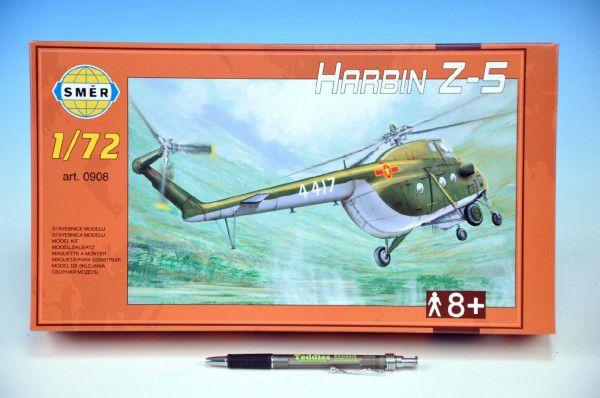 Model Vrtulník Harbin Z-5 v krabici 34x19x5,5cm