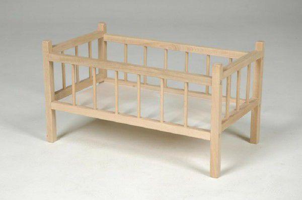 Postýlka dřevo 49x28x28cm v sáčku