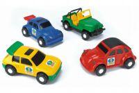 Auto Color Cars plast 20-23cm asst Wader