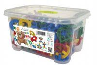 Stavebnice Disco 96ks v plastovém boxu 26x14x18cm