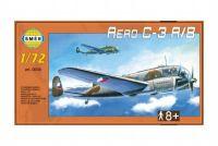 Model Aero C-3 A/B 1:72 29,5x16,6cm v krabici 34x19x5,5cm