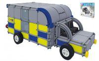 Stavebnice Seva Rescue 2 Policie plast 534ks v krabici 35x33x8cm