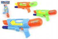 Vodní pistole 30cm plast asst 3 barvy v sáčku