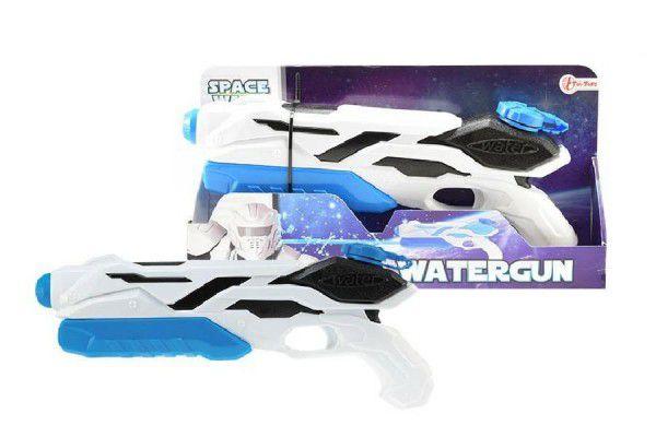 Vodní pistole vesmírná plast 40cm v krabici