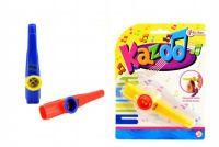 Kazoo plast 12cm - 3 barvy