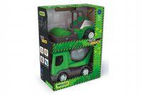 Auto stavební Tech truck 2v1 plast 23cm asst v krabici 26x35x15cm Wader