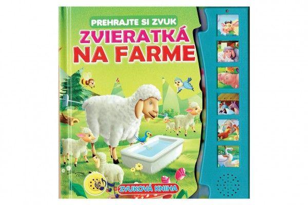 Zvuková kniha Zvieratká na farme SK verzia 20x20 cm