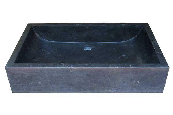 Umývadlo z prírodného kameňa Ornatus 308 Black