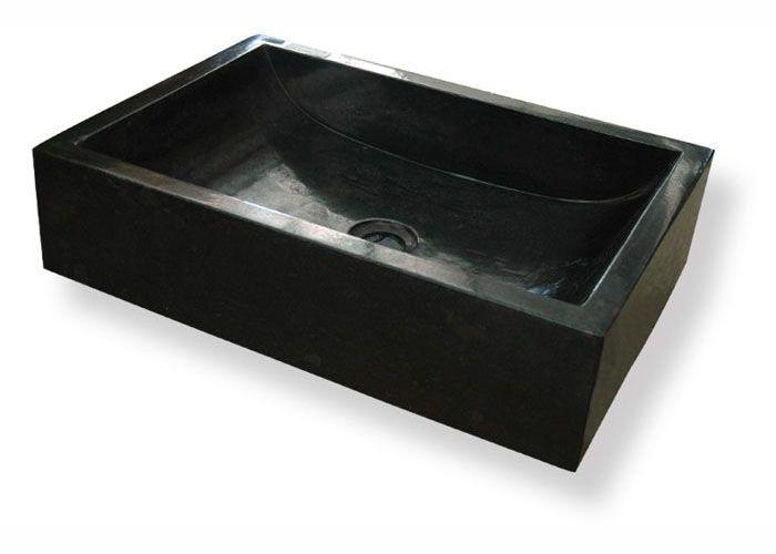 Umývadlo z prírodného kameňa Vester Black