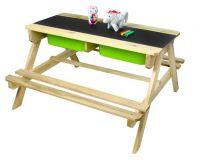Detský drevený záhradný set 2 v 1
