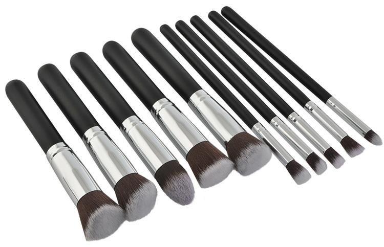 Set štetcov na make-up - 10 ks