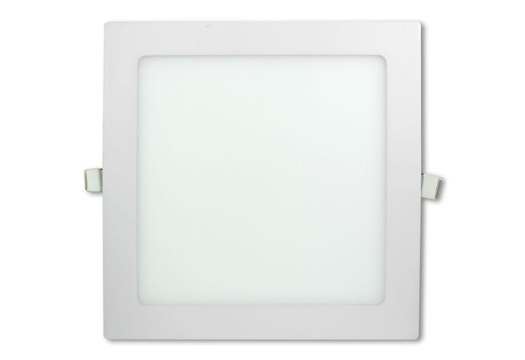 LED stropný panel štvorcový 18 W, neutrálna biela