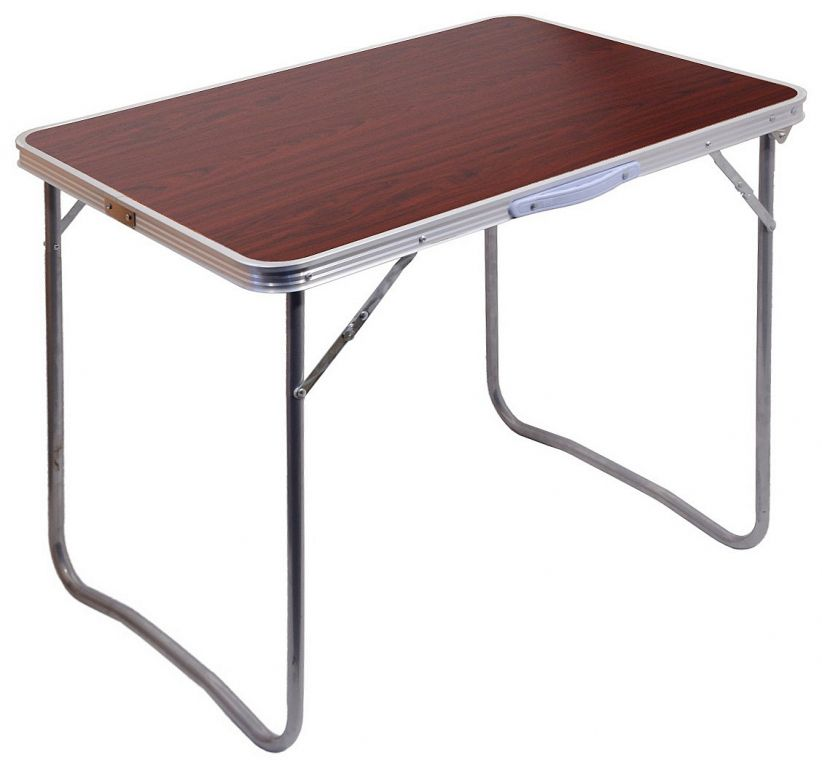 Stôl kempingový skladací BALATON hnedý