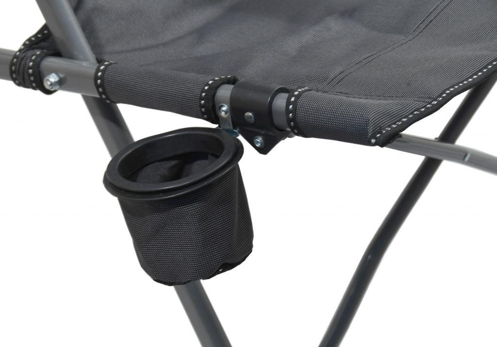 Kempingová skladacia stolička MERIT XXL - 111 cm