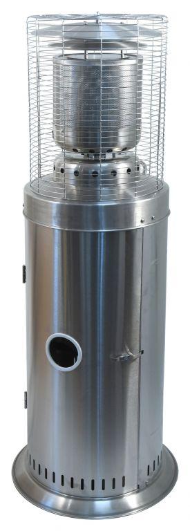 Plynový žiarič s regulátorom SILVERINO
