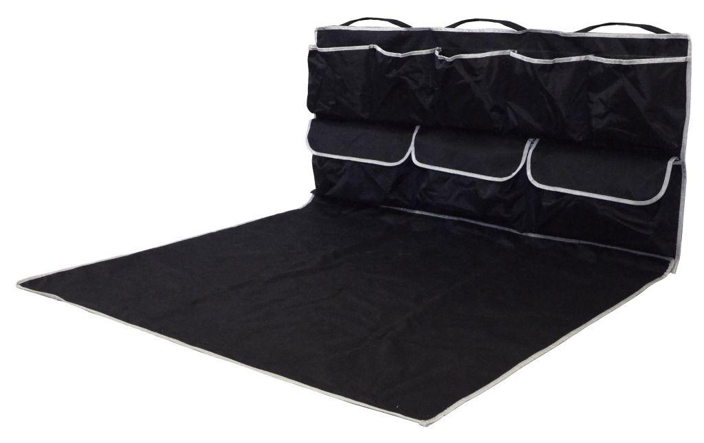 Deka ochranná do kufra s vreckami - 110 x 100 x 50 cm