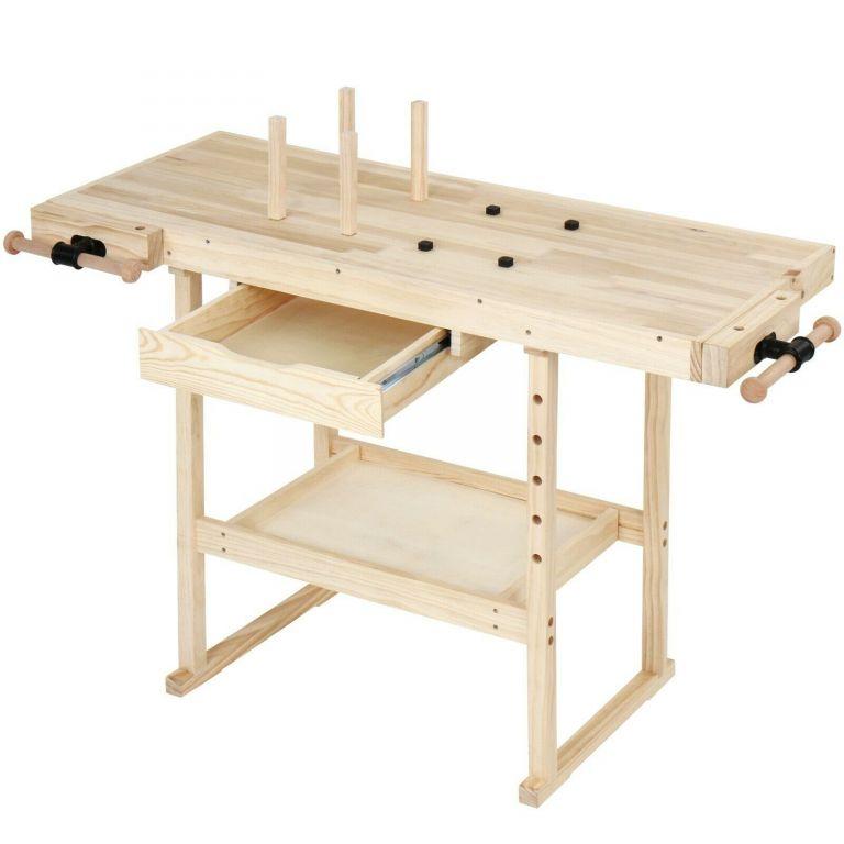 Pracovný stôl drevený, 83 cm