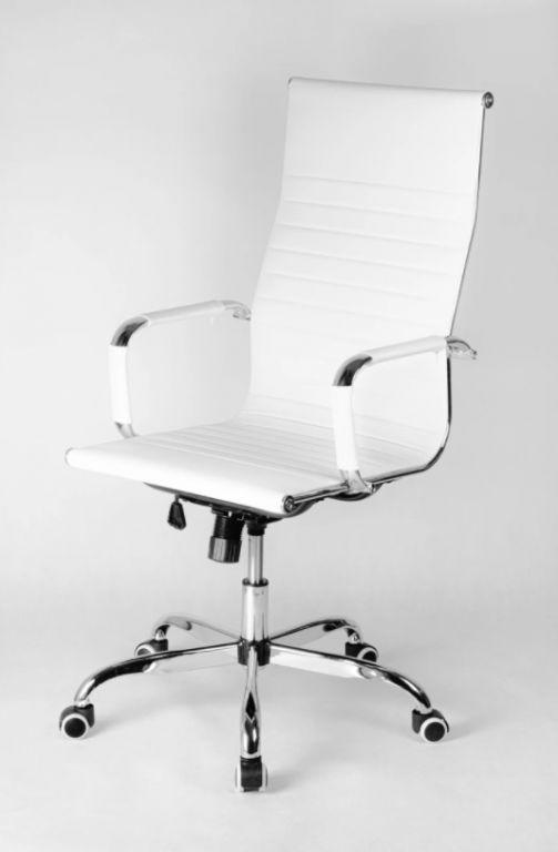 Kancelárska stolička Portoriko, biela