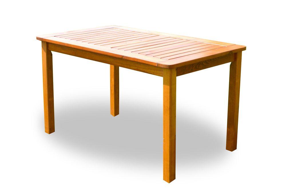 Záhradný stôl HOLIDAY lakovaný FSC