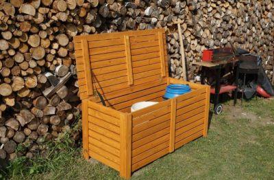 BOX na podušky drevený