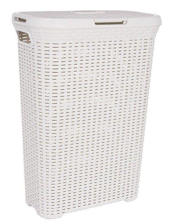 Kôš na prádlo STYLE RATTAN 40l krémový CURVER