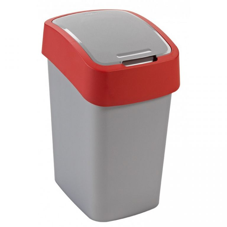 Odpadkový koš FLIPBIN 25l - červená CURVER