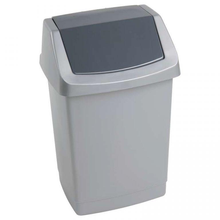 Koš odpadkový CLICK 9l - luna CURVER