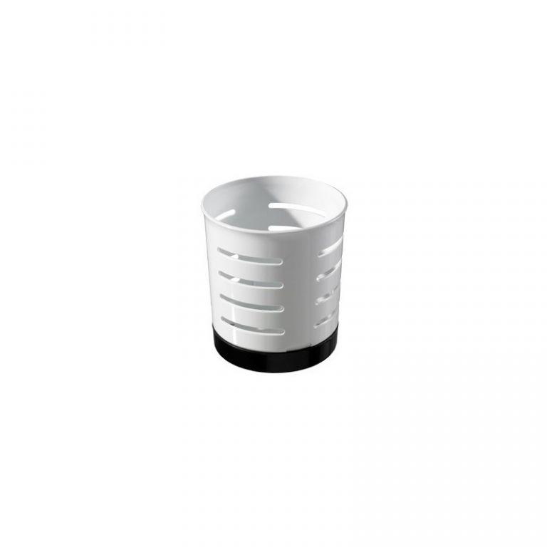 Odkapávač na příbory CHEF & HOME - bílý CURVER