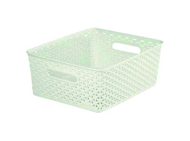 Plastový košíček MY STYLE M - krémový CURVER