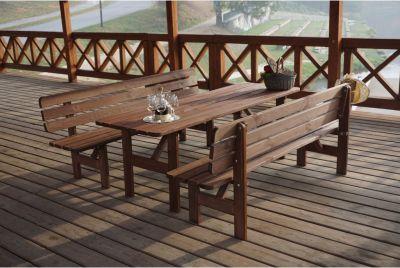 Dřevěná lavice MIRIAM - 200CM