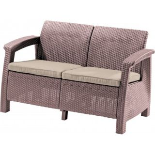 Pohovka COFRU LOVE SEAT - cappuccino