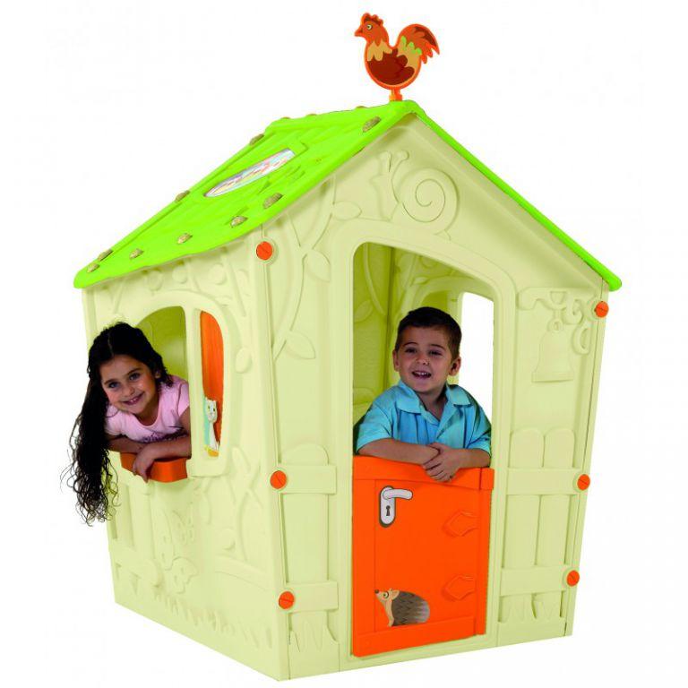 Detský hrací domček MAGIC PLAY HOUSE - béžový