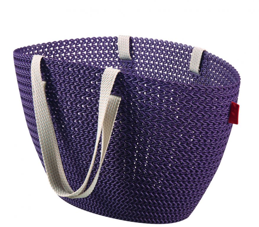 Taška nákupná,pikniková - fialová
