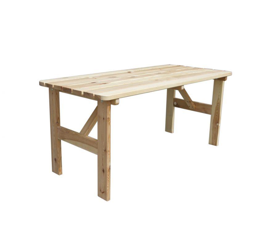 Záhradný drevený stôl VIKING - 150 cm
