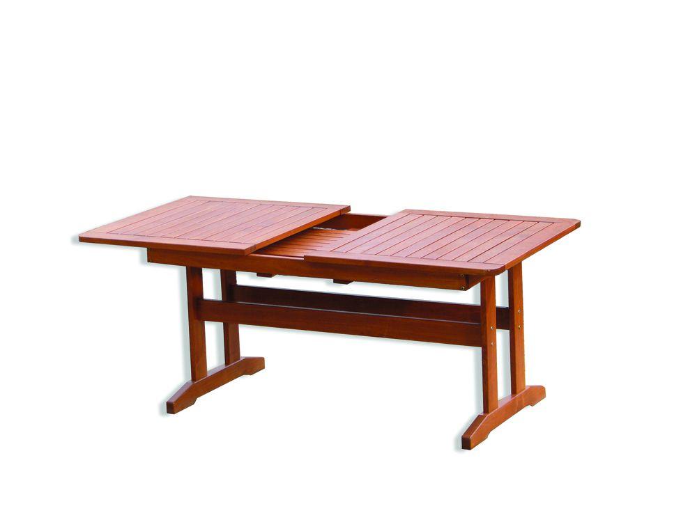 Záhradný drevený stôl LUISA