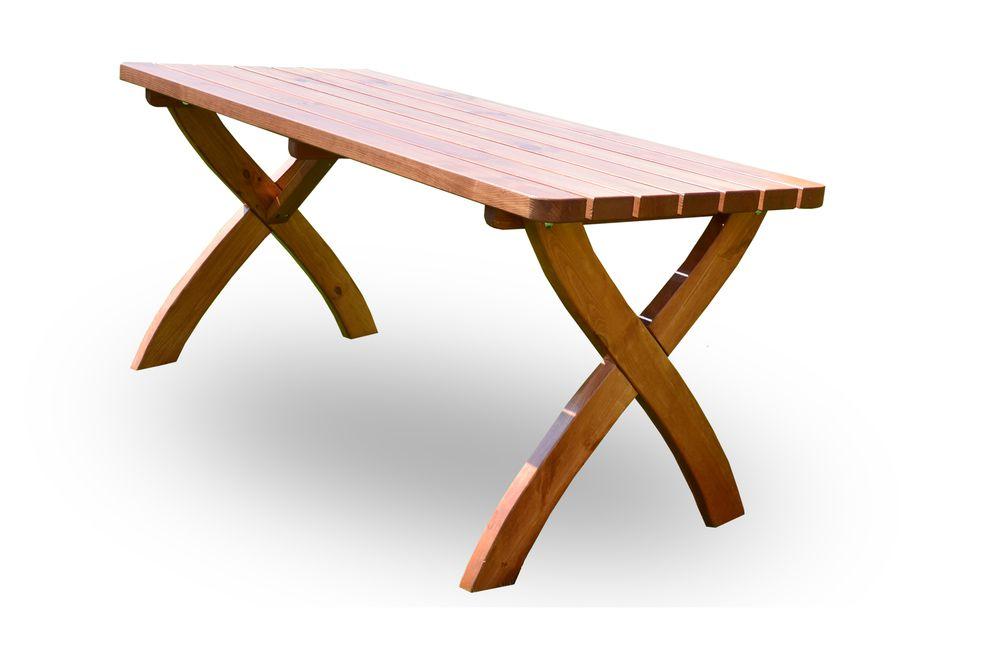 Záhradný drevený stôl STRONG - 160 cm