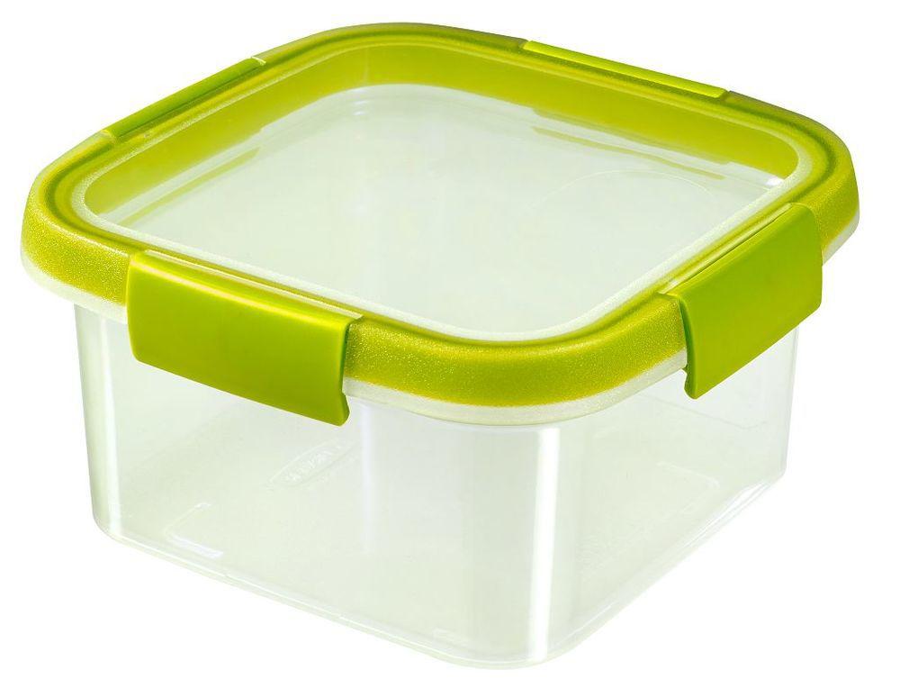 Plastová dóza SMART FRESH 1,1 l - zelené veko