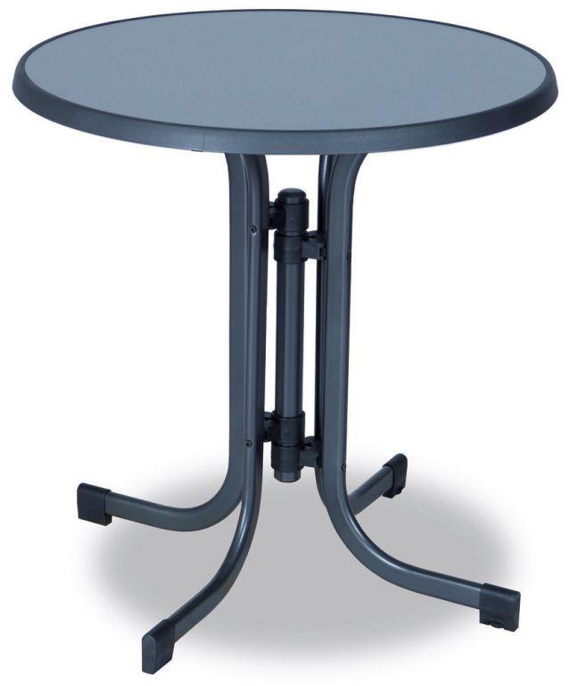 Záhradný kovový stôl Pizzaria - 73 x 70 cm