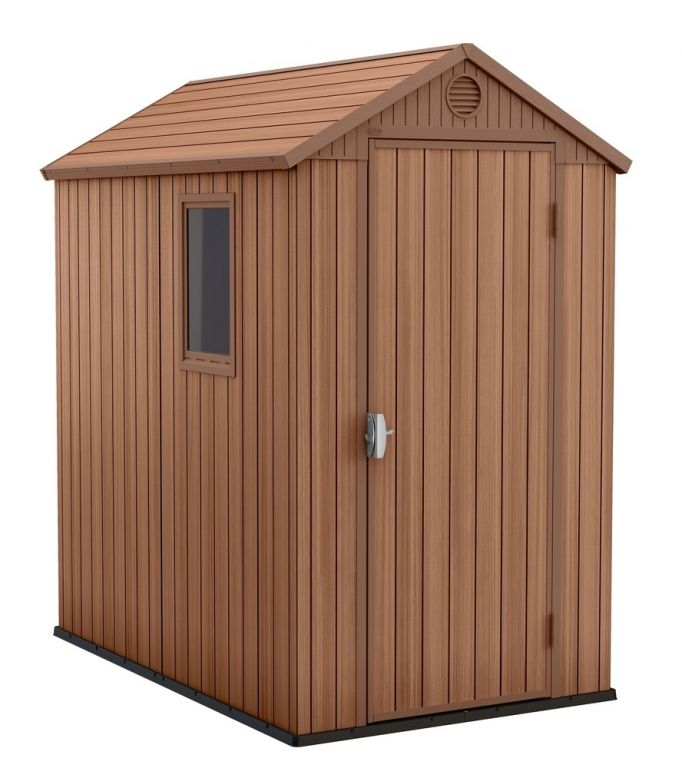 Záhradný drevený domček DARWIN - 205 x 126 x 185 cm