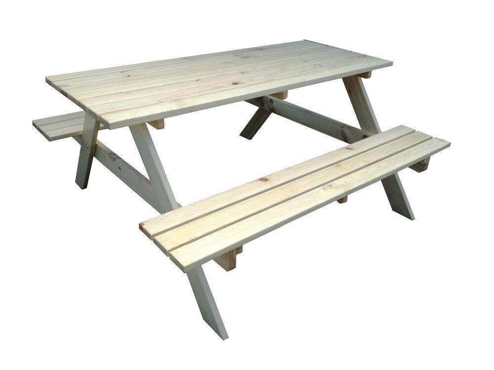 Záhradný drevený set PIKNIK - 160 cm